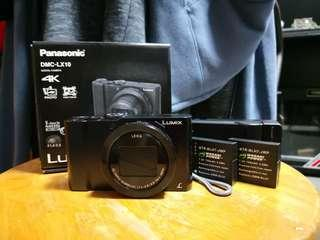 Panasonic DMC - LX10 with 2* spare battery and soft case