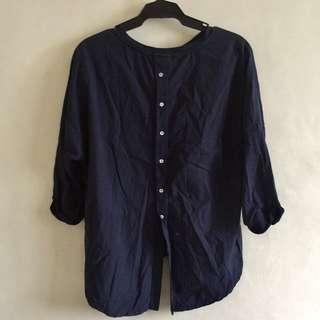 Navy Blue loose top
