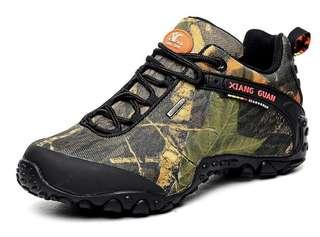 🚚 XG Camo Hiking Shoes (Sz 39-45)