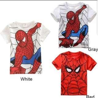 [Pre-Order] Spiderman Kids Shirt
