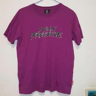 🚚 全新賠售💣台中品牌KFM短袖上衣紫色M