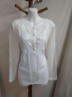Sale * Arcadia white top