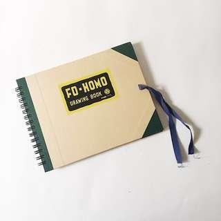muse f0-homo drawing sketchbook