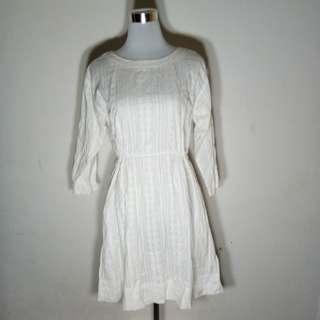 Gap white dress