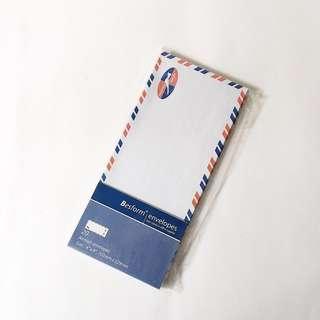 "besform 4""x9"" air mail envelopes pack"