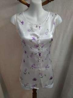 Sale * Satin nightwear top