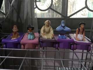 Aladdin & Friends Vintage Happy Meal Set