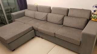 4-seater sofa set