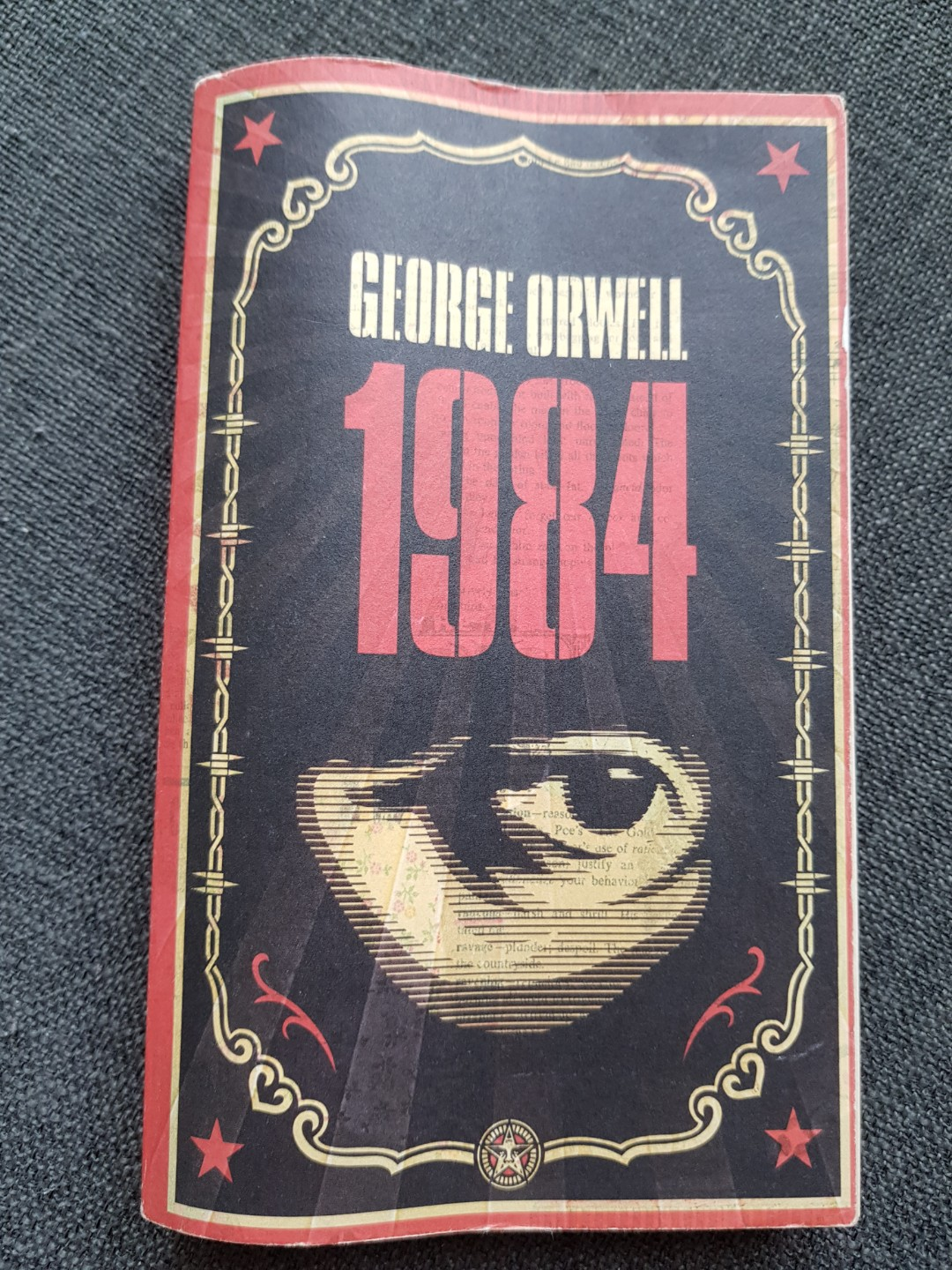 1984 By George Orwell Books Stationery Fiction On Carousell
