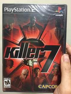 Killer 7 new and sealed ps2 version