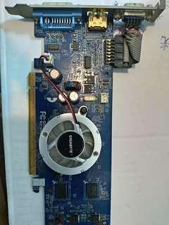 送咖啡 技嘉 N845 512I NVIDIA GeForce 8400 GS PCI-E 顯示卡  繪圖晶片 非 華碩 GTX 1050