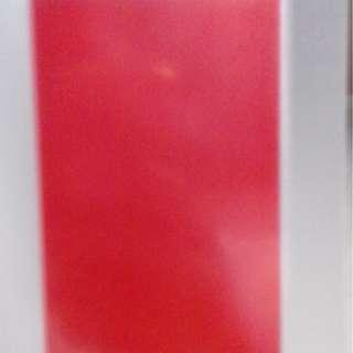 WTS RED SEE THROUGH CARD(?)