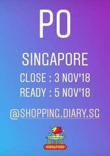 Pre Order Singapore