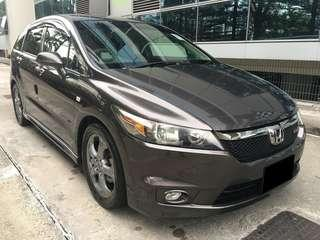 CAR FOR RENT $70 PER DAY WEEKDAYS HONDA STREAM (P PLATE WELCOME)