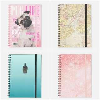 [open po] typo - A5 spinout notebook 120pages
