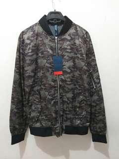 Zara Man Army Jacket Boomber