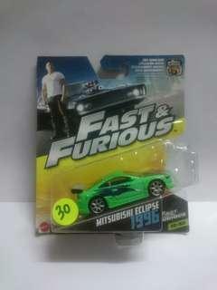 Mattel The Fast & Furious Mitsubishi Eclipse