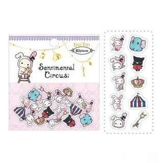🚚 Sentimental Circus Sticker Flakes