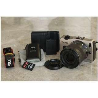 Canon EOS M with 18-55mm STM Lens Mirrorless Camera