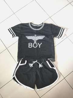 🚚 Boy Top And Shorts Set
