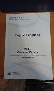 HKDSE 香港中學文憑試英文past paper