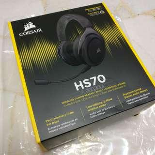 Corsair HS70 wireless gaming headset with 7.1 surround sound