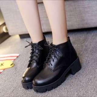 厚底 馬汀靴 短靴