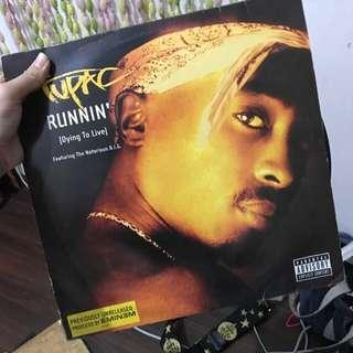 Tupac vinyl player limited