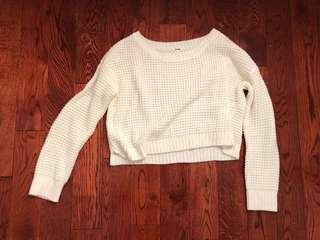 Garage Knit Cropped Sweater