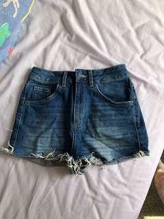 topshop girlfriend shorts