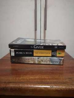 The Giver, The Good Earth, The Kite Runner