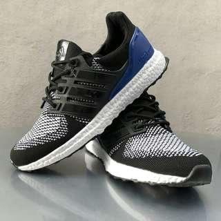 a5a71f935c6bd Adidas Ultra Boost Black White Blue
