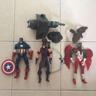 Toybiz captain America set