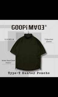 Type- T Hunter Poncho 軍綠3號 goopi goopimade