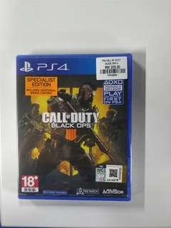 PS4 Call of Duty Black Ops 4: Specialist Edition