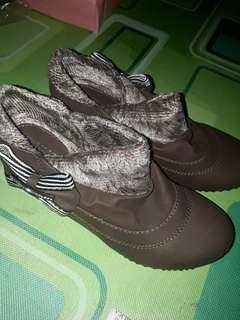 Jual rugi sepatu boots korea