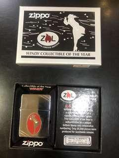 "Zippo Lighter ""Windy Collectible Of The Year"""
