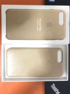 Original apple iPhone 7/8 plus leather case tan
