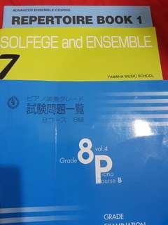 🚚 Piano books for Yamaha