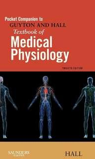 Pocket Companion to Guyton and Hall Textbook of Medical Physiology, 12th Ed PDF