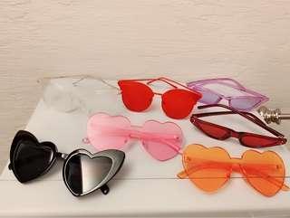 🚚 造型眼鏡2支300任選