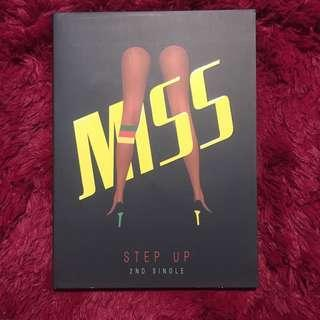 MISS A STEP UP - 2nd Single