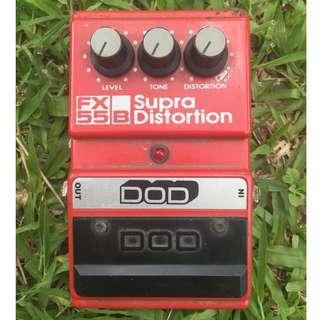 FX55B Super Distortion gutar pedal