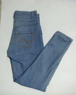 Women's High Waisted Maong/Denim Pants