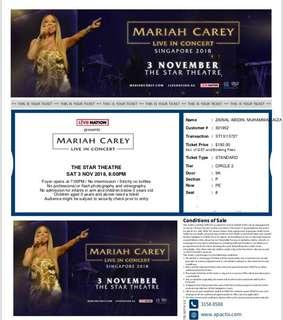 Mariah Carey Live!! this Saturday buy now!!!
