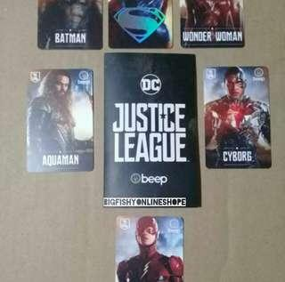 JUSTICE LEAGUE LIMITED EDITION BEEP CARDS
