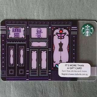 Anna Sui x Starbucks Card