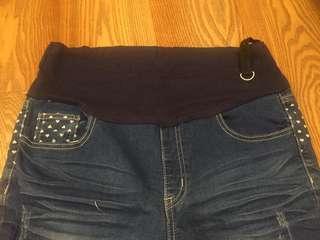孕婦可調腰圍孕婦褲