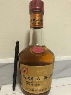 Korean Ginseng Wine 40 year old