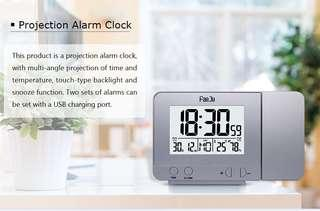 Desk Digital Clock with Time Projection